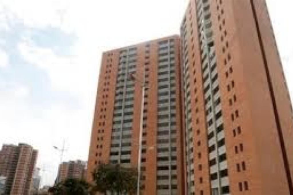 Vista del conjunto residencial