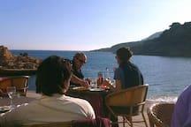 Good restaurants at the seaside