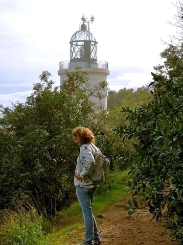 Sant Sebastià lighthouse. Great views and great restaurant