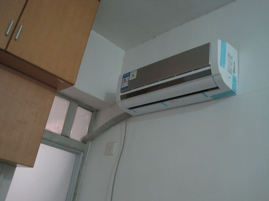new aircondition with warm and cold