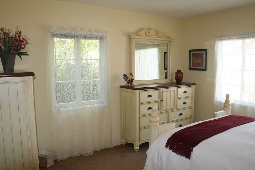 Plenty of Storage in roomy Master Bedroom