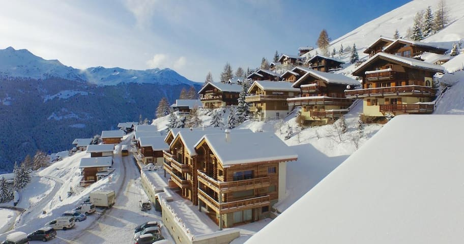 Luxurious chalet - 300m from slopes - Saint-Luc - Apartment