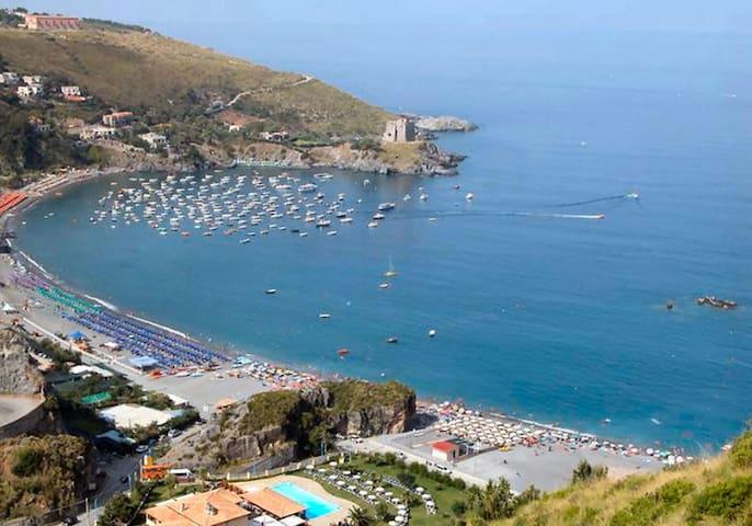 residence con piscina,giardino,mare cristallino - San Nicola Arcella - Apartamento
