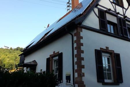 Ferienwohnung Annaberg - Burrweiler - Daire