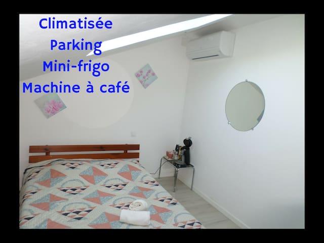 Chambre dans maison - Agen - Daire
