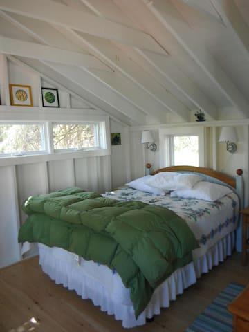 Cottage style comfort.