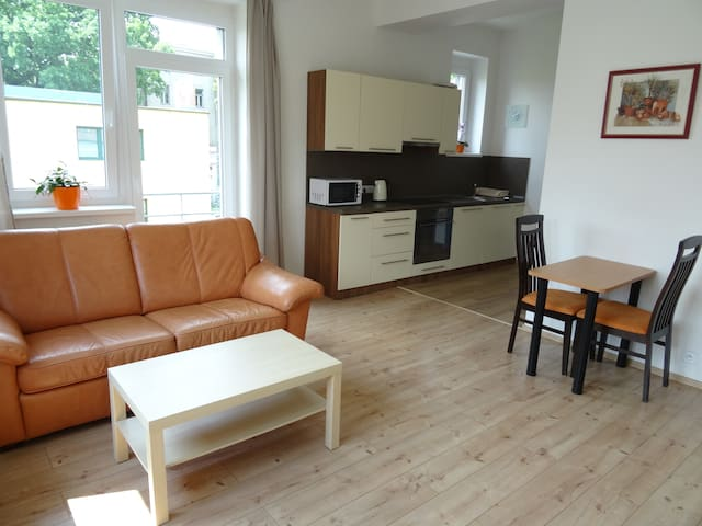 Lovely apartment for up to 4 people in Nymburk - Nymburk - Appartement