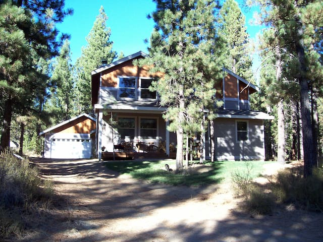 Queen+1 @ Ponderosa Forest Retreat! - La Pine - House