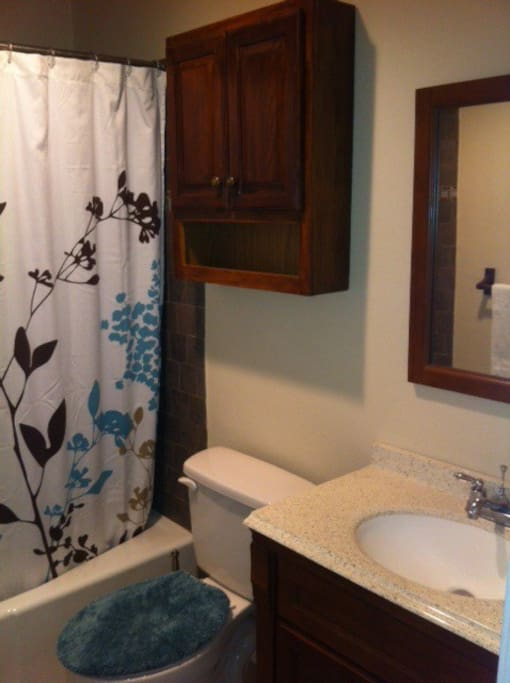 Guest bathroom: Your private bathroom during your stay.