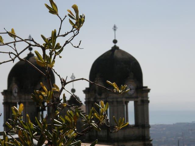 Panoramicissima Mansarda Etna Mare - Zafferana Etnea - Daire