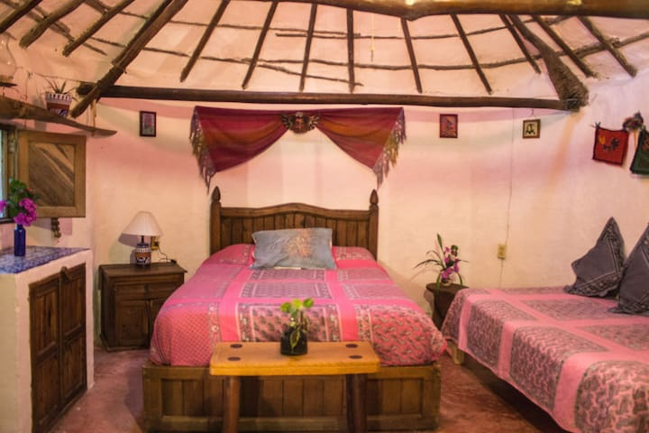 Casitas Kinsol Guest House - Room 1 - Puerto Morelos - Blockhütte