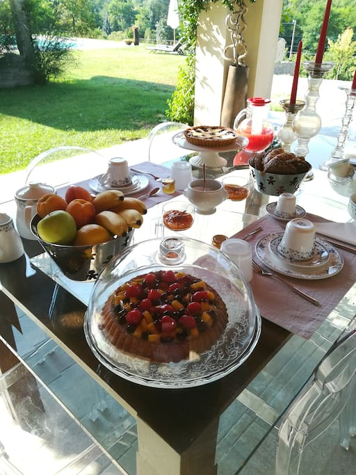 Le colazioni di Ca' del Bosso sono un momento indimenticabile