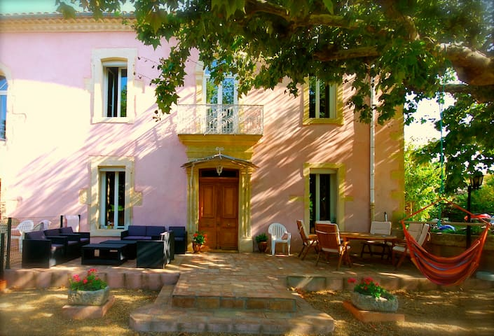 Provence stone House in Nîmes area