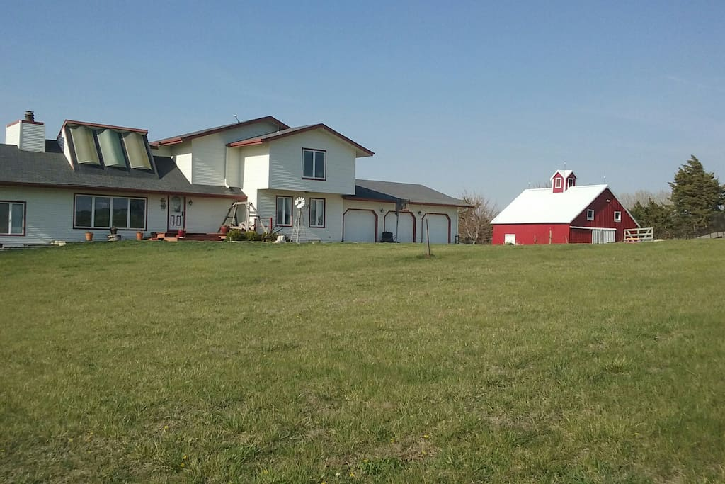 Country living - peace and quiet, stars and sunsets.  But only 10 min. from town