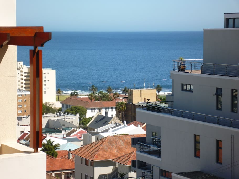The view - short walk to Main Road with all hotels, bars, restaurants and coffee shops.
