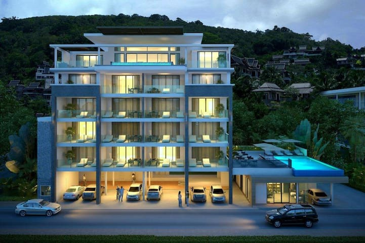 Apartment on Phuket, Surin Beach - Choeng Thale