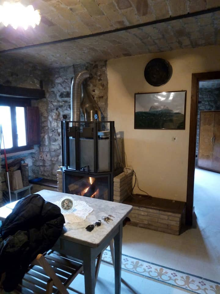 Affittasi casa in Parco Nazionale G.Sasso