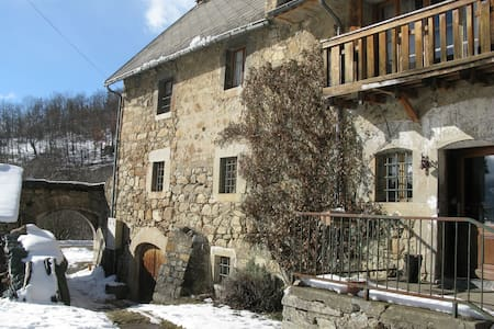 18th century guesthouse in the Alps - Les Côtes-de-Corps