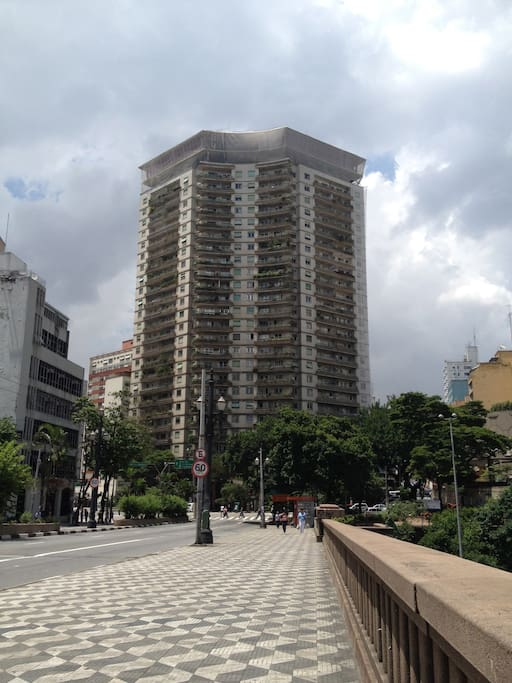Edificio Viadutos: a landmark in Sao Paulo´s city centre