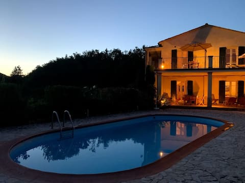 Countryhouse with stunning view and private pool