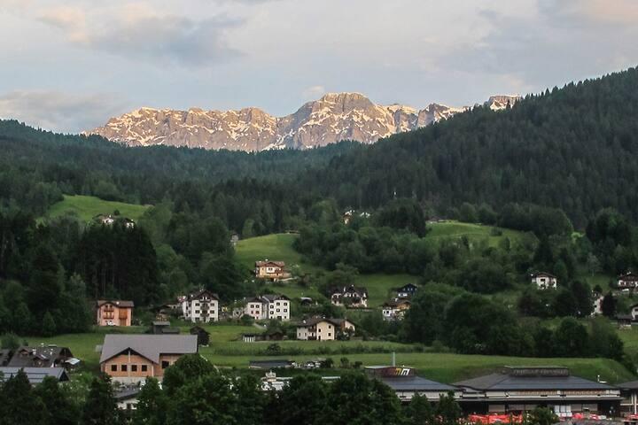 Fiera di Primiero - Terrazza panoramica sulle Dolomiti