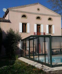 2 Chambres d'hôtes avec piscine chauffée