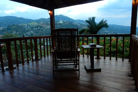 Great view, Bernard's House - Kandy