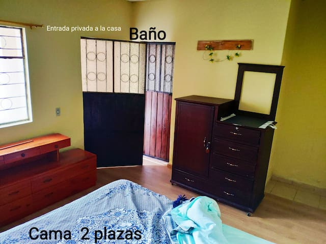 Habitación privada para descansar en Tabacundo