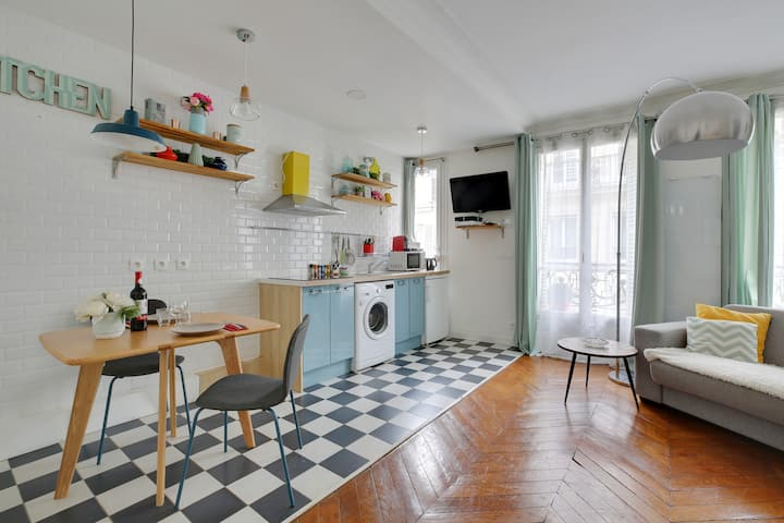 Cosy appartment near the Louvre/Montorgueil