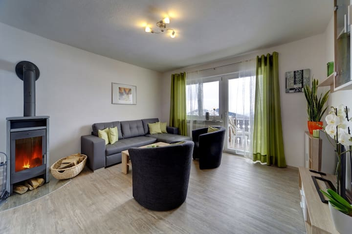 Große 4* Wohnung 6 Personen im bayerischen Wald