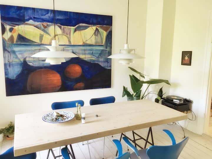 Beautiful apartment in Copenhagen, Frederiksberg