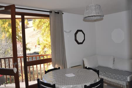 53M² 7 PERS 2 CH 2SDB SUR PISTES - Enchastrayes - Appartement