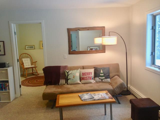 Private, 2bed apartment. 5 min from Stowe Mtn! - Stowe - Daire