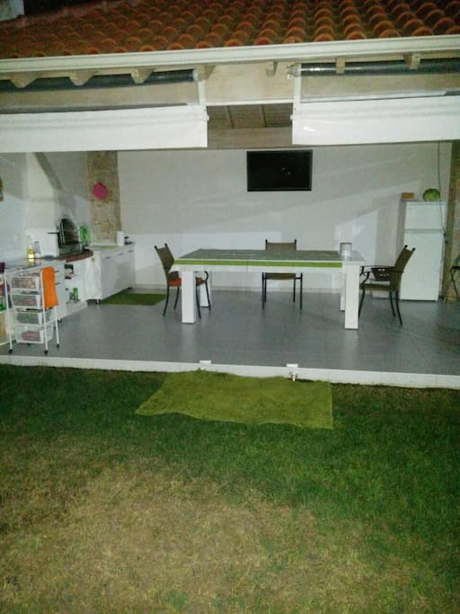 Barbecue inside