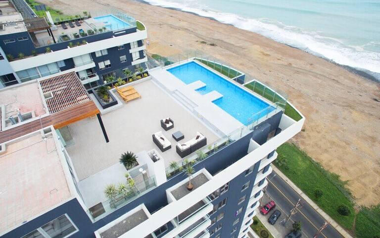 Excellent Apt! Great common areas! Rooftop Pool!! - Distrito de Lima - Appartement