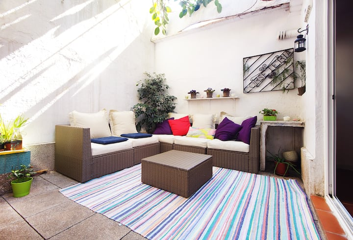 Patio home, Gracia