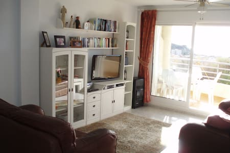 Fabulous apartment with the best view in town. Quiet area, short walk to centre.