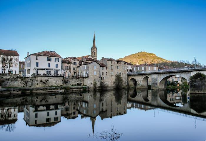 maison rivière - Saint-Antonin-Noble-Val - Inap sarapan