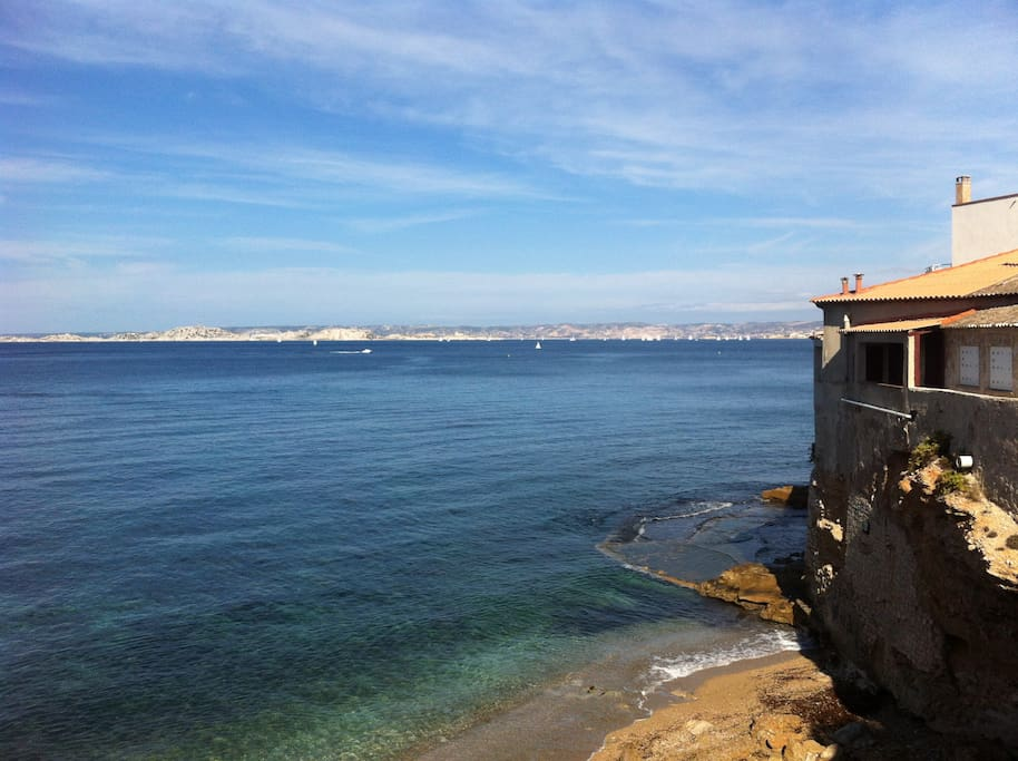 vue sur la rade de Marseille