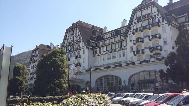 Aptº  para 3 pessoas Palácio Hotel Quitandinha.
