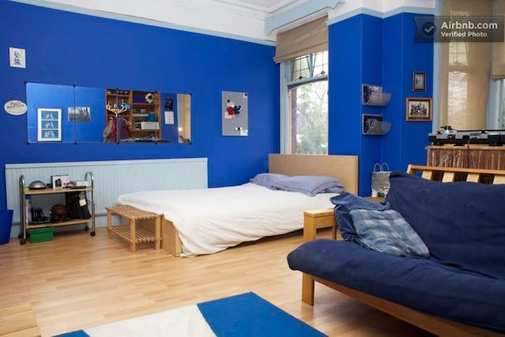 Cosy rooms listing - blue room - Cardiff - House