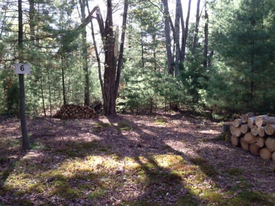 Camp Site # 6