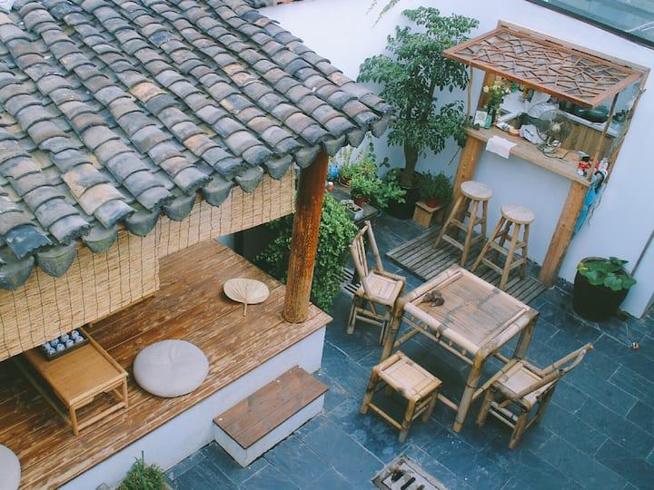 【竹枝词·秋乏】平江路弄堂中的小院子 近苏州博物馆 拙政园 狮子林 耦园