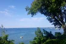 Port Dalhousie pier on Lake Ontario just a 5min walk to this view
