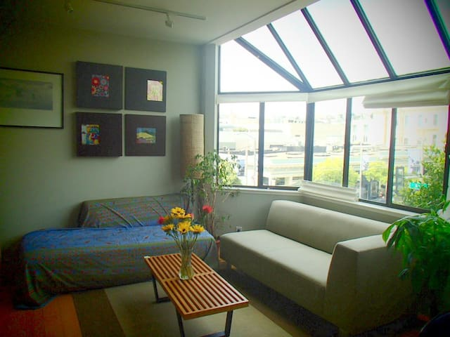 Charming apartment in the Fillmore, location!