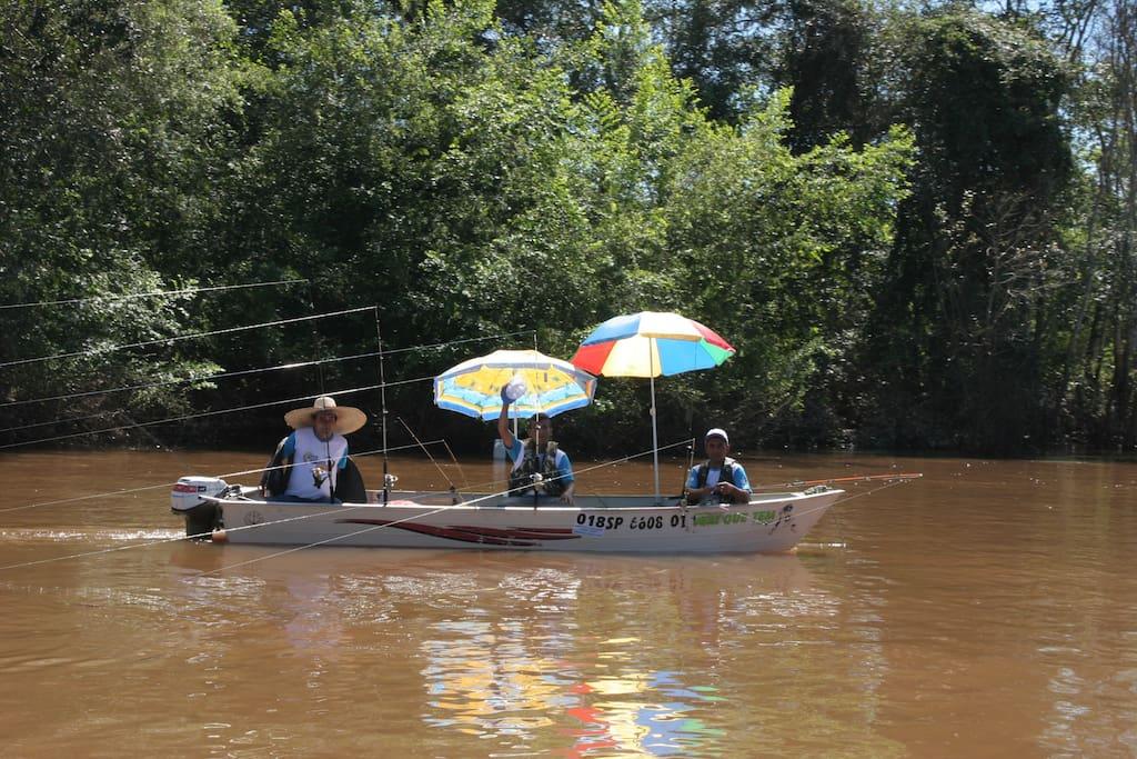 Segundo maior festival de pesca do munto .