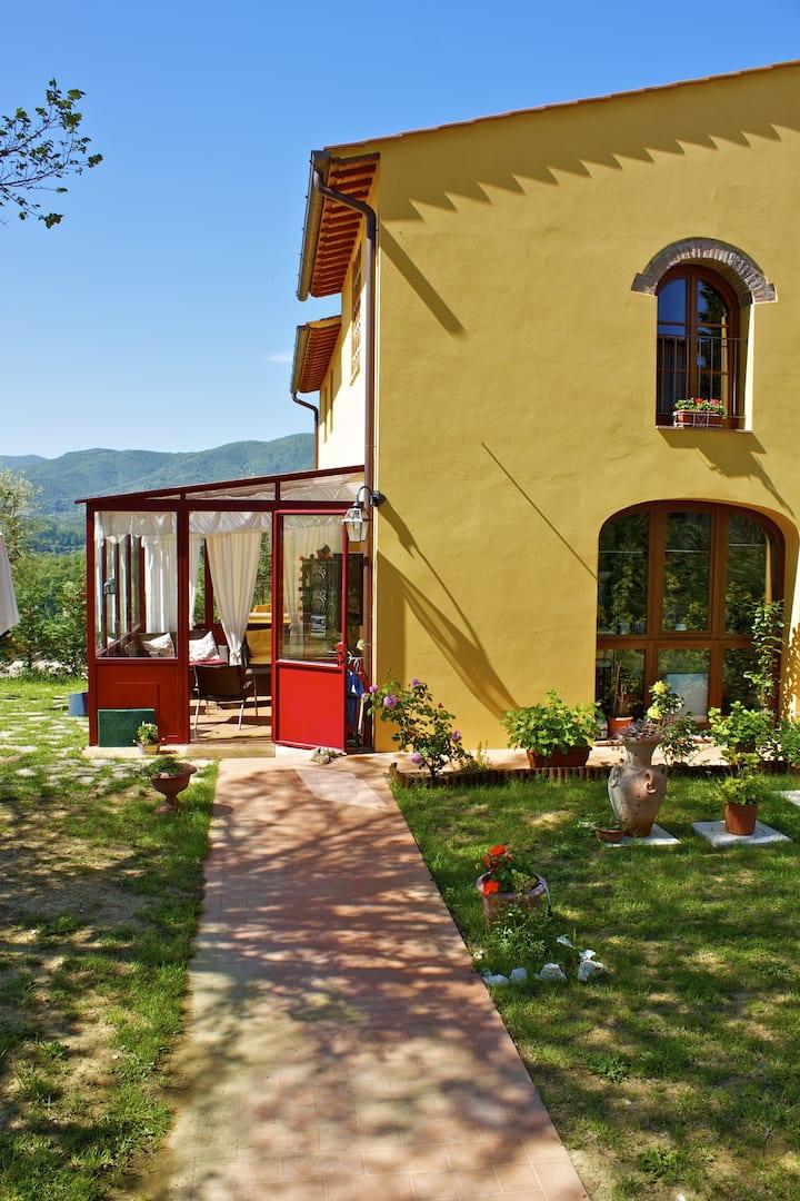 New characteristic Tuscan home