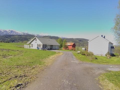Svaregården, 7 km fra Mosjøen sentrum