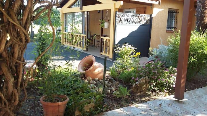 logement ensoleillé dans un cadre verdoyant