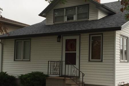 Council bluffs home with lots of extras.